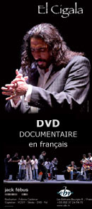 El Cigala DVD Jack Febus